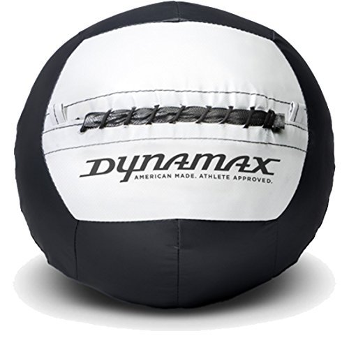 Dynamax Medizinball Standard Ball, Schwarz/Weiß, 6 kg, tf00372