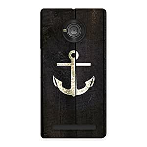Special Bold Anchor Back Case Cover for Yu Yunique