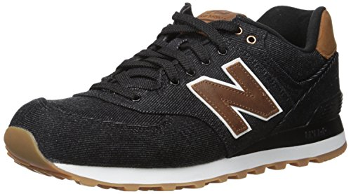 New Balance Lifestyle, Baskets Basses Homme, Noir (Black), 45 EU