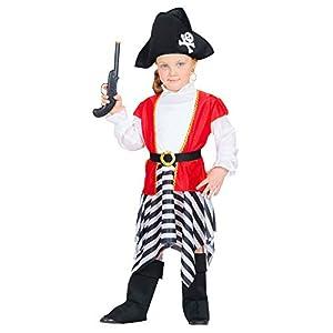 WIDMANN - Disfraz infantil de piratas, corsarios y bucaneros, multicolor, 104 cm / 2 - 3 años, 48979