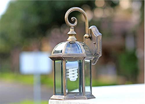 Aussenlampe Wandbeleuchtung Wandlampe Wandleuchte Innen Im Freien Wasserdichte Villa Curio-Wandleuchten Laternen-Hof-Garten-Retro- Gang-E27-Balkon Im Freien -
