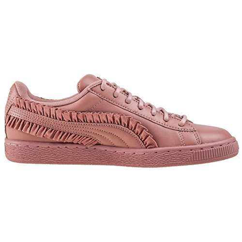 Puma Basket Classic Frill Femme Baskets Mode Rose pink