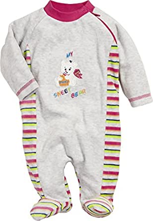 schnizler unisex baby schlafstrampler schlafanzug nicki my sweet bear oeko tex standard 100. Black Bedroom Furniture Sets. Home Design Ideas