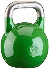 Idea Regalo - GORILLA SPORTS® Kettlebell Competition 8-40 kg di acciaio – Kettlebell da competizione, 100557-00034-0028, 24 kg, 24 kg