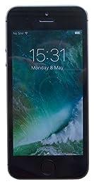 Apple iPhone 5s Space Grey 16GB (UK Version) SIM-Free Smartphone