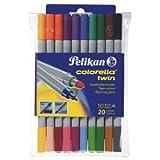 Pelikan C304/10Mehrfarbig Filzstift–Stifte (Mehrfarbig, Mehrfarbig)