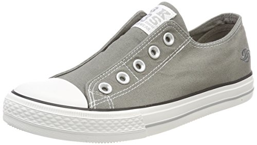Dockers by Gerli Damen 36UR202-710200 Slip On Sneaker, Grau (Grau 200), 40 EU