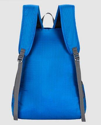 Cinny Ultra leichten und tragbaren klappbare Nylontasche wasserdichte outdoor-Sport für Männer und Frauen Blue