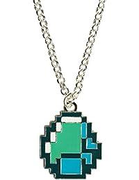 Minecraft 2866Diamant Anhänger Halskette