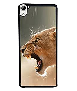 FUSON Designer Back Case Cover for HTC Desire 826 :: HTC Desire 826 Dual Sim (Tiger Lion Chitta Angrily Looking Killer Hunter Shikari)