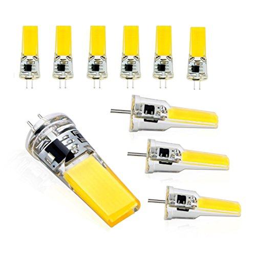 Lit. G4 Stiftsockel Lampe AC/DC 12 V 3 W COB SMD Mais-lampe Stiftsockellampen LED-Lampe ersetzt Halogenlampen Cool White)