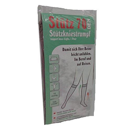 Strümpfe für alle - Stützkniestrümpfe 70 den - 3er Pack (39/42, perle)