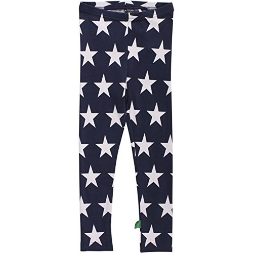 Fred's World by Green Cotton Baby - Mädchen Legging Star baby, Gr. 80, Blau (Navy 019381003)