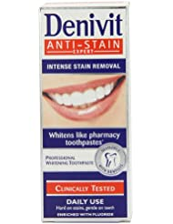 Denivit Anti-Stain Expert Professional Whitening Toothpaste 50ml (Pack of 6)