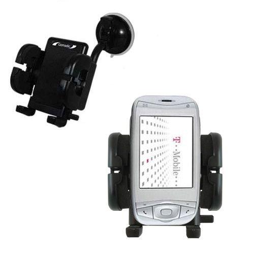 HTC Wizard Windschutzscheibenhalterung für KFZ / Auto - Cradle-Halter mit flexibler Saughalterung für Fahrzeuge