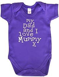 IiE, My Dad and I love Mummy, Baby Boy Bodysuit