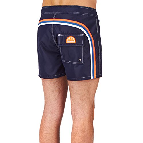 "Sundek Badeshorts Bs/Rb Low Rise 14"" Dark Blue 3"
