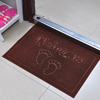 GFYWZ Tappetini tappetino tappeto stuoia piede , dark coffee , 40*60