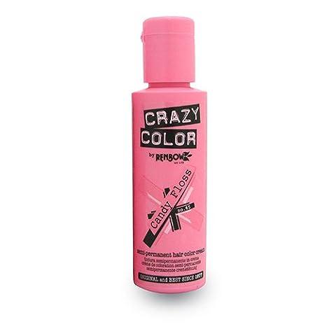 Renbow Crazy Coloration No 65 Candy Floss Pink Crème Semi-Permanent 100 ml