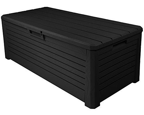 Ondis24 Stabile Wertige Kissenbox Florida Holz Optik Sitztruhe