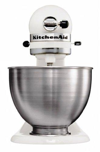 Kitchenaid-5K45SSEWH-Srie-Classic-Robot-Mixeur-Multifonctions-Blanc