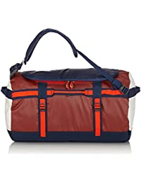 The North Face Base Camp Duffel - Bolsa de deporte , color rojo / naranja, talla única