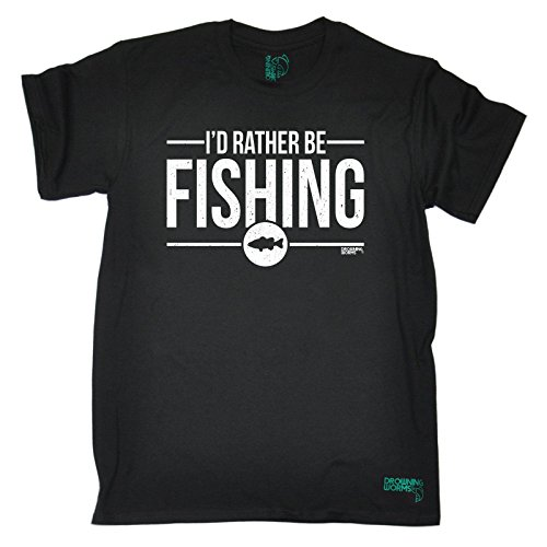 Drowning Worms Men's Fishing T-Shirts Part 2 - Love Fish - The Perfect Gift Christmas Birthday T Shirt