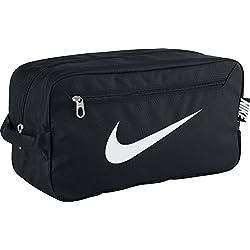 Nike Schuhtasche Brasilia 6 Zapatillero, Hombre, Negro / Blanco, Talla Única