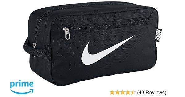 584a87cbb7 Nike Men s Brasilia 6 Shoe Bag - Black Black White