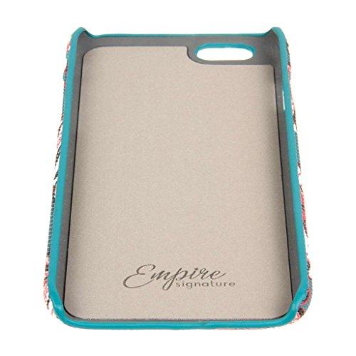 EMPIRE Signature Serie Schutzhülle für Apple iPhone 6/6S _ P Bold Teal Floral