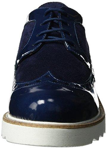 Vitti Love Damen 533-206 Brogues Blau (Indigo)