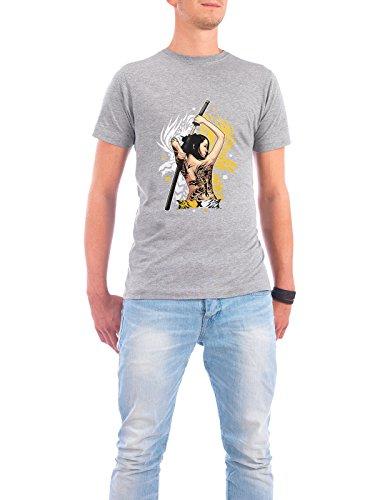 """Design T-Shirt Männer Continental Cotton """"The Sakuza"""" - stylisches Shirt Film Menschen von Muhammad Siddik Grau"""