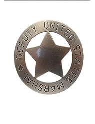 Ayudante Denix US Sheriff estrella gris estrella de Sheriff Cowboy Western