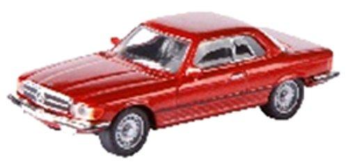 Preisvergleich Produktbild Schuco 452605200 - Mercedes Benz 450 SLC Coupe,  Die-Cast,  Maßstab 1:87,  rot