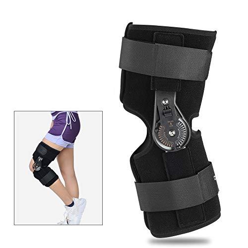 Verstellbare Kniebandage Knie Sleeve Unterstutzung Klammer Anti Slip Schmerzlinderung fur Sport Arthritis Patella Gelenkverletzung Recovery (L)
