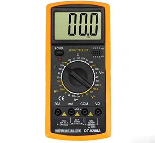 Hycy Digital Multimeter Multifunktionale LCD AC DC AMP Automatische Multimeter Amperemeter Widerstand Kapazität Meter Repair Tool
