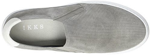 IKKS Grey Slip-On, Mocassins Homme Gris (Gris Moyen)