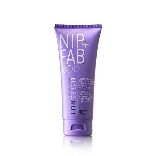 Nip + Fab Fix Buste Crème De Nuit 100Ml