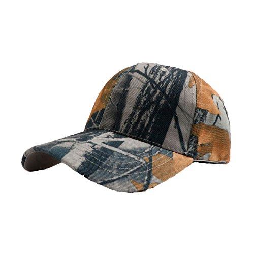 Camo Cap Cowboys (Unisex Herbst Camo Sport Breathable Outdoor Baseball Caps Peaked Hat Mehrfarbig,3-M)
