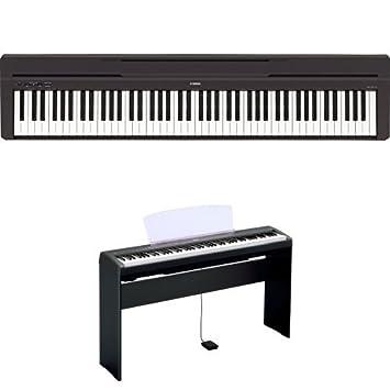 pianos numeriques yamaha full pack p115 blanc pianos numeriques portables