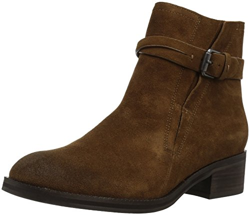 Gentle Souls Women's Percy Bootie With Buckle Detail Ankle Boot, Medium