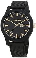 Lacoste 2010818 - Reloj analógico de pulsera para hombre, correa de silicona de Lacoste