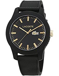 Lacoste Herren-Armbanduhr Analog Quarz Silikon 2010818