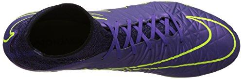 Nike Mens Hypervenom Phatal Ii Df Fg Scarpe Da Calcio Viola (multicolore)