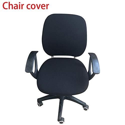 wonderfulwu abnehmbare Stretchhussen für Bürostuhl, Computer-Aufgaben und Stuhlbezug, elastisch, für Bürostuhl, Schutzbezug e