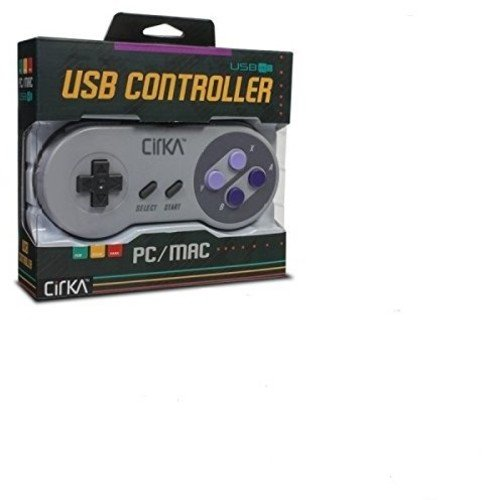 "CirKa ""S91"" Premium SNES USB Controller for PC/ Mac 414CoRlfiBL"