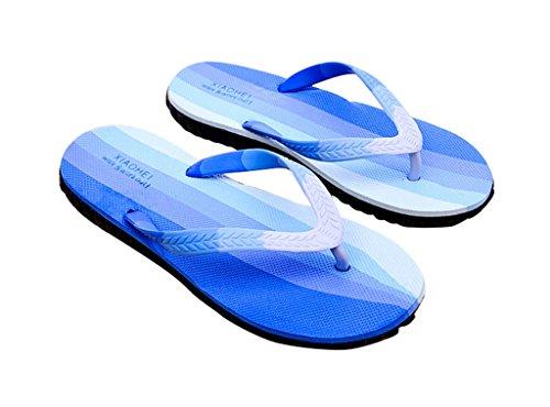 SOGXBUO , Sandales Plateforme homme Bleu