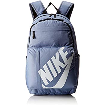 cba4067b Nike Nk Elmntl Bkpk, Unisex Adults' Backpack, Multicolour (Ashen  Slate/Black Wh), 15x24x45 cm (W x H L)