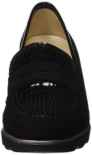 Dchicas 3703, flâneurs femme Noir (Black)