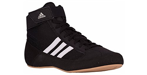 adidas Havoc 2.0 (AQ3325) Ringerschuhe Ringer Schuhe Wrestlerschuhe Boxerschuhe GRÖßENAUSWAHL & Farbauswahl (40 / UK 6 1/2, Schwarz) -